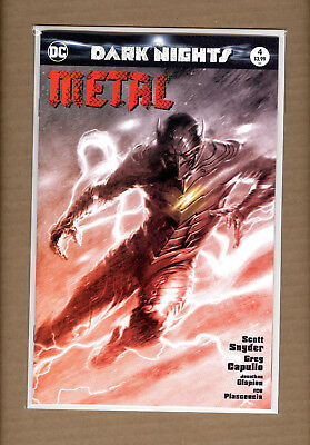 Dark Nights Metal #4  Dell'otto B&w  Variant Limited To 1500   Nm/nm+