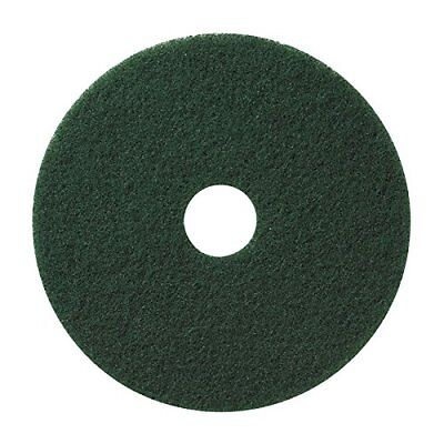 "Microtron Emerald Stripping Pad, 14"", Green (Pack of 5), Abrasive, New"