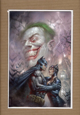 Batman 50 Lucio Parrillo Virgin Variant Catwoman Wedding Joker Cover Vf/nm