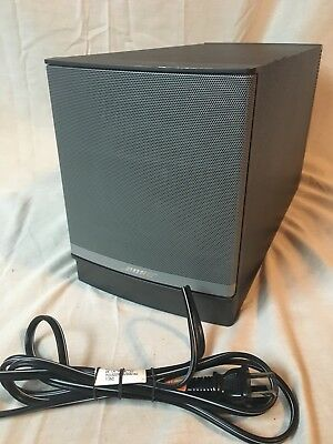 Bose Companion 5 Multimedia Speaker System (Only Sub Woofer + Power Cable)