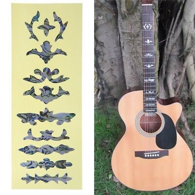 Electric Acoustic Guitar Bass Inlay Sticker Fretboard Marker Fret Decal Decor