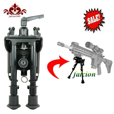 6-9 inch tactical  style rifle gun Bipod swivel model W / Pod lock