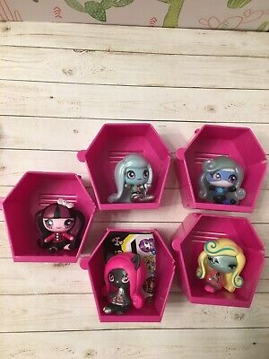 monster high minis season 1 lot deuce space abbey Twyla catty Catrine