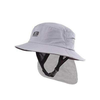 Ocean & Earth Men's Indo Surf Hat In Grey for Surfing & Water Sports