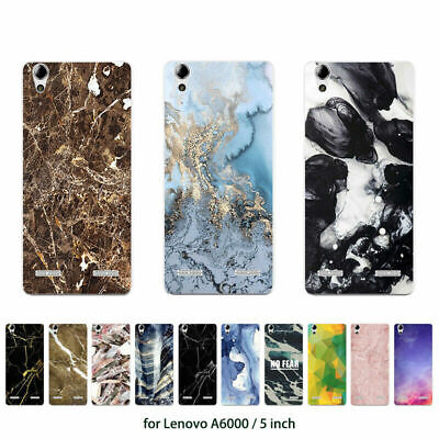 Soft TPU Silicone Case For Lenovo A6000 Protective Phone Back Cover Skins Print