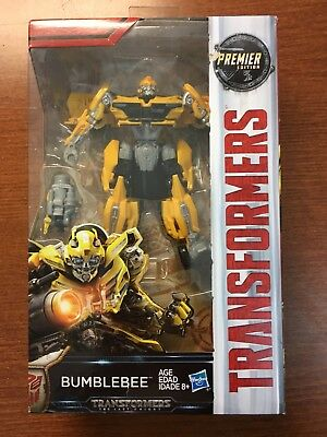 Hasbro Transformers The Last Knight  Deluxe Bumblebee Premier Edition