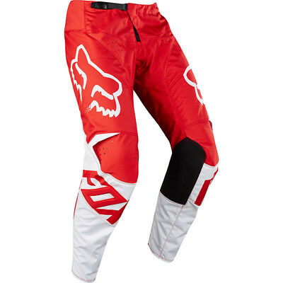 Fox Racing NEW Mx 2018 180 Race Red White Adults Motocross Dirt Bike Pants