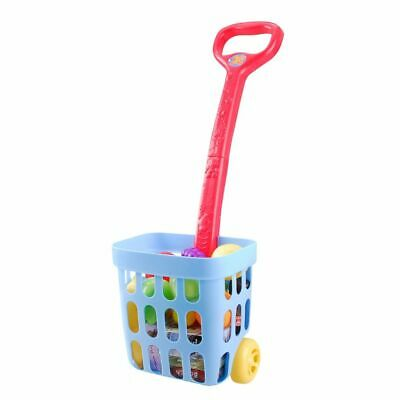 Playgo Rolling Shopping Basket Children Kids Pretend Play Toy Game 3245-1