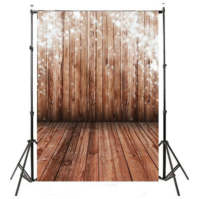 5x7FT Vinyl Photography Backdrop Photo Background, Brown wood floor B2T1