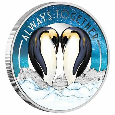 NEW Perth Mint - Always Together 2018 1/2oz Pure Silver Coin