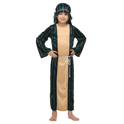 a0ddb72b3fa2 Boy's Arab Warrior Dress Up Costume Kids Cosplay Halloween Party Outfit