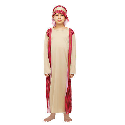 bb3e7f122470 Boy's Arab Shepherd Dress Up Kids Costume Cosplay Halloween Party Outfit