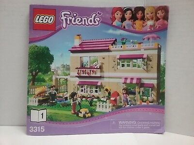 Lego Friends 41056 Instruction Bookmanual Only 1 2 1300