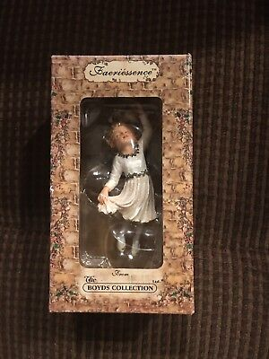 The Boyds Collection Faeriessence Misty Faeriekiss 'Tis the Season Ornament 2002
