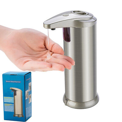 Automatic Soap Dispenser Hands Free Stainless Steel Liquid Accessories Hot Sale