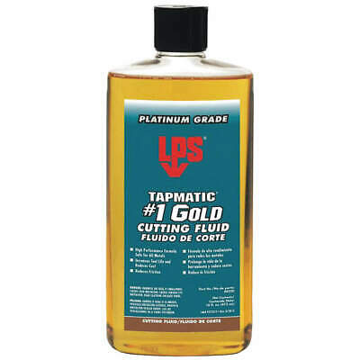 LPS Cutting Oil,16 oz,Squeeze Bottle, 40320, Gold