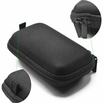 Earphone Carry Storage Case Bag Earbud Headphone Cable Protector Box w/Carabiner