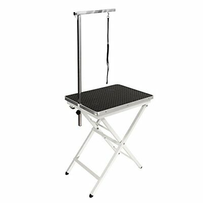 """NEW Flying Pig Grooming Pet Dog Portable Table, Black, Mini Size/24 L x 18"""" W"""