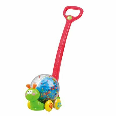 Playgo Push & Roll Snail Kids Childen Push Along Activity Toy Play Rattles 2855