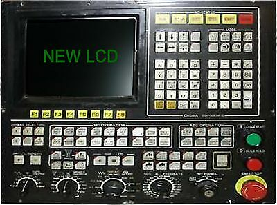 LCD monitor upgrade for 9-inch Okuma OSP 700M with Cable Kit