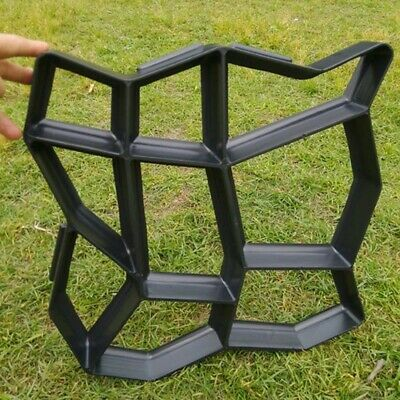 Garden Path Grids Maker Mold Cement Brick Molds Stone Road Auxiliary Tools Manua