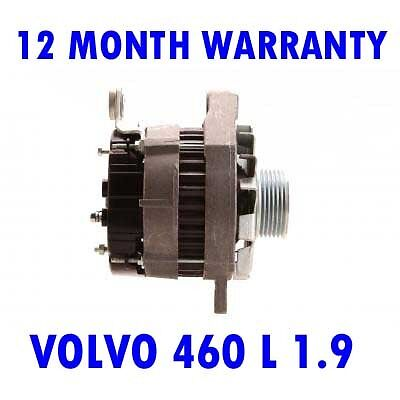 8114UK Fits VOLVO 460 2.0 Alternator 1992-1996