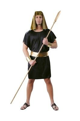 Adult Mens Egyptian King Pharaoh Costume Fancy Dress Ancient Themed Party