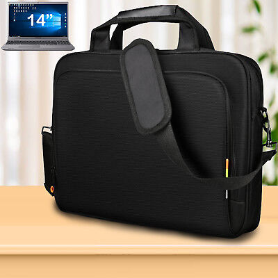 "14"" inch Laptop Shoulder Case Bag For Dell HP Sony Acer Asus Samsung Notebook UK"