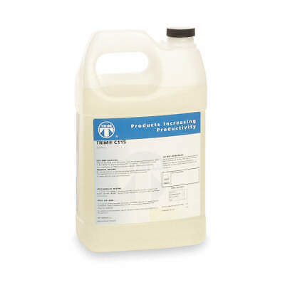 TRIM Coolant,1 gal,Bottle, C115/1, Pale Yellow