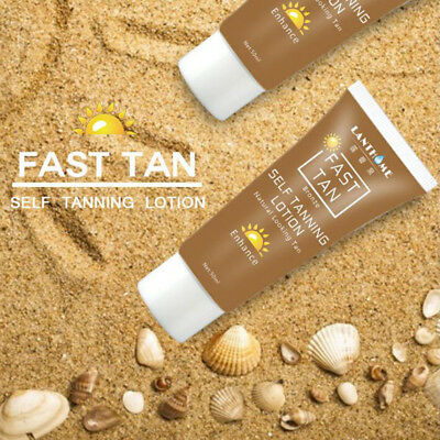 50ml Self Tanner Natural Tanning Body Lotion Cream Bronzing Self hand Sun tan
