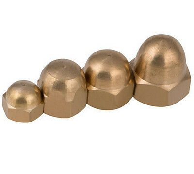 Solid Brass DIN1587 Domed Cap Nut Acorn Nuts M3M4 --M12 M14 M16 M18 M20