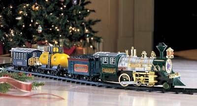 Traditional Around the Christmas Tree Train Set Decoration Music Sound & Lights