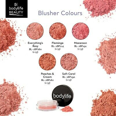 Bodylife Beauty Makeup Natural Mineral Blushers 2.5g