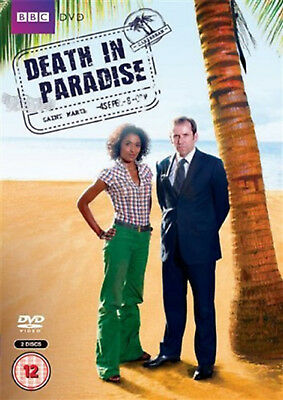 DEATH IN PARADISE COMPLETE SERIES 1 DVD First Season Kris Marshall UK Rel New R2