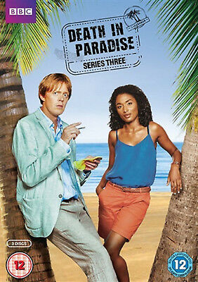 DEATH IN PARADISE COMPLETE SERIES 3 DVD Third Season Kris Marshall UK Rel New R2