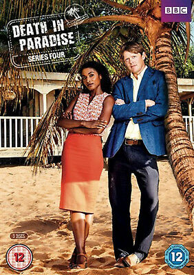 DEATH IN PARADISE COMPLETE SERIES 4 DVD Fourth Season Kris Marshal UK Rel New R2