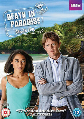 DEATH IN PARADISE COMPLETE SERIES 5 DVD Fifth Season Kris Marshall UK Rel New R2