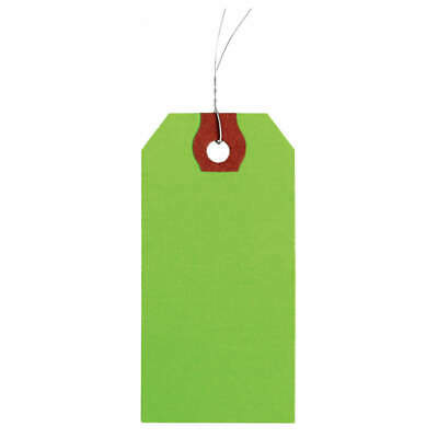 GRAINGER APPROVED Wire Tag,Paper,Blank,PK1000, 1GYV2, Green