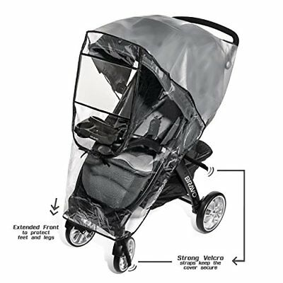 Premium Stroller Cover Weather Shield, Universal Size, Waterproof, Protects