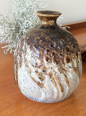 Jackman Australian Studio Pottery Piece -Vintage Pottery Made In Geelong  70'S