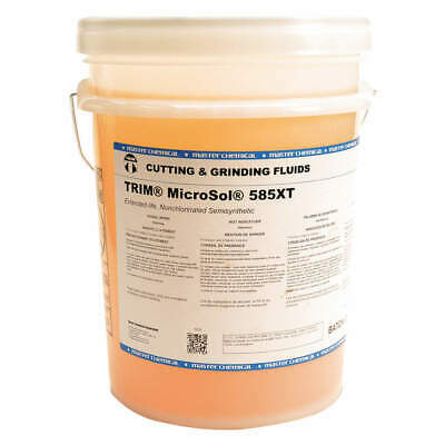 TRIM Cutting Oil,5 gal,Bucket, MS585XT/5, Amber