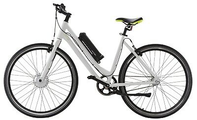 Aerobike X-Ride White Electric E Bike 250W Pedal Assisted 30mile Battery GRADE B