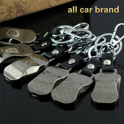 New Car Logos Fashion Titanium Key Chain Car Keychain Ring Keyfob Metal Keyrings