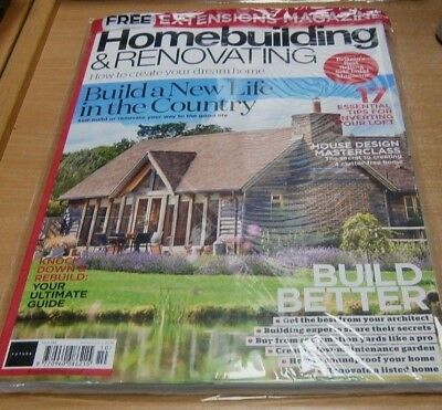 Homebuilding & Renovating magazine #142 OCT 2018 + Extensions for Every Budget