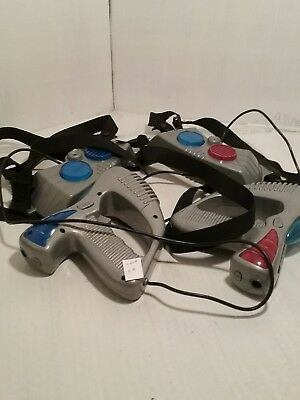 * Laser Challenge Disarmed Laser Tag Player Gun Vest 2003 Jakks Pacific