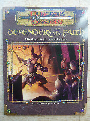 *** Dungeons and Dragons *** Defenders of the Faith ***