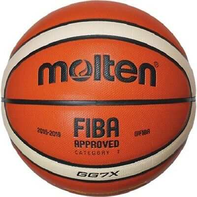 molten indoor Basketball GG7X FIBA Composite Leder international edition BGG7X-X
