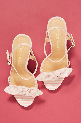 04190fa1908a ANTHROPOLOGIE VICENZA HEELS shoes lace up tribute tan platform 36 UK ...