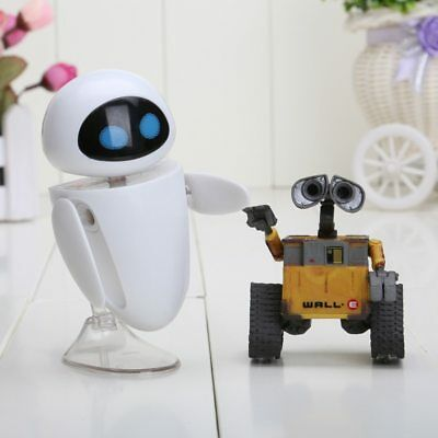 Wall-E Robot WALL Action Figure Collection Model toy 6 cm EVE Pixar Cartoon Toy