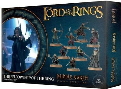 The Fellowship of the Ring. Warhammer Lord Of The Rings. Games Workshop